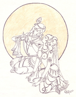 Lord Krishna - Colouring Pages for Kids | Mocomi