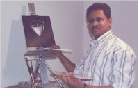 Giridhar Pottepalem - Oil Painting