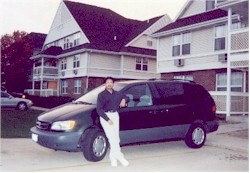 With my Toyota Sienna - 2001